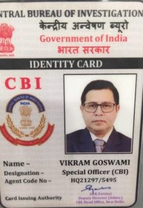 Fake CBI Officer