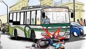 Bhopal Road Accident
